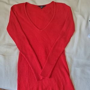Red Guess sweater